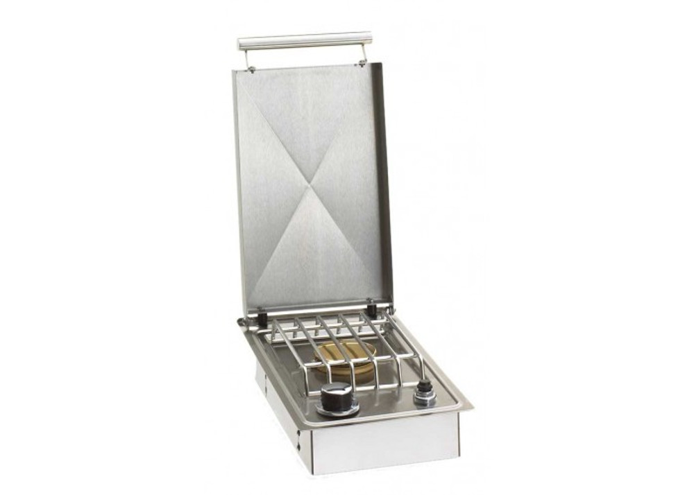Fire Magic  Single Side burner - Drop in w/hinged lid
