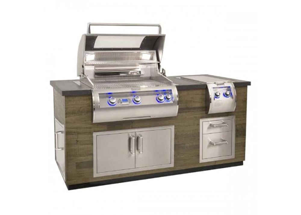 Fire Magic Reclaimed  Wood Grill Island - ID660-FOD