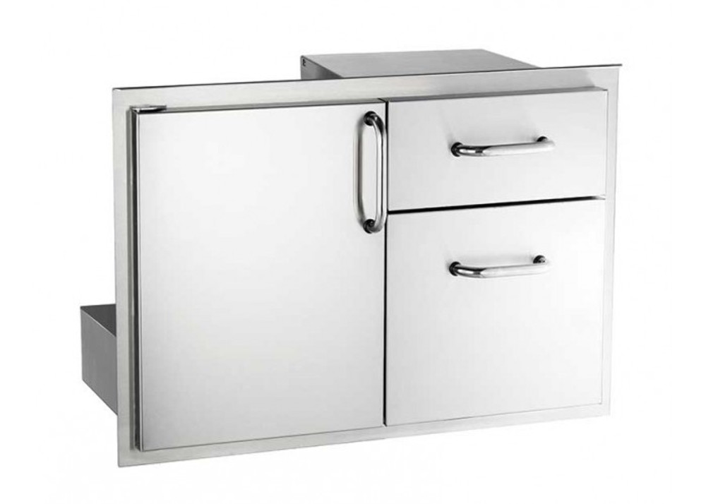 Fire Magic Access Door Double Drawers