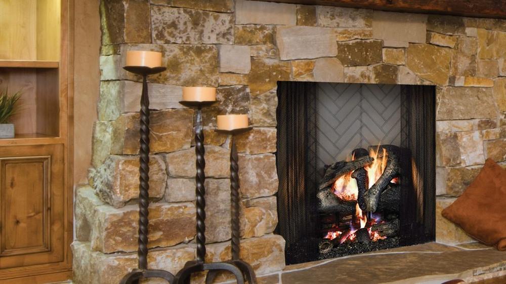 "Majestic Ashland 50"" Wood Fireplace"