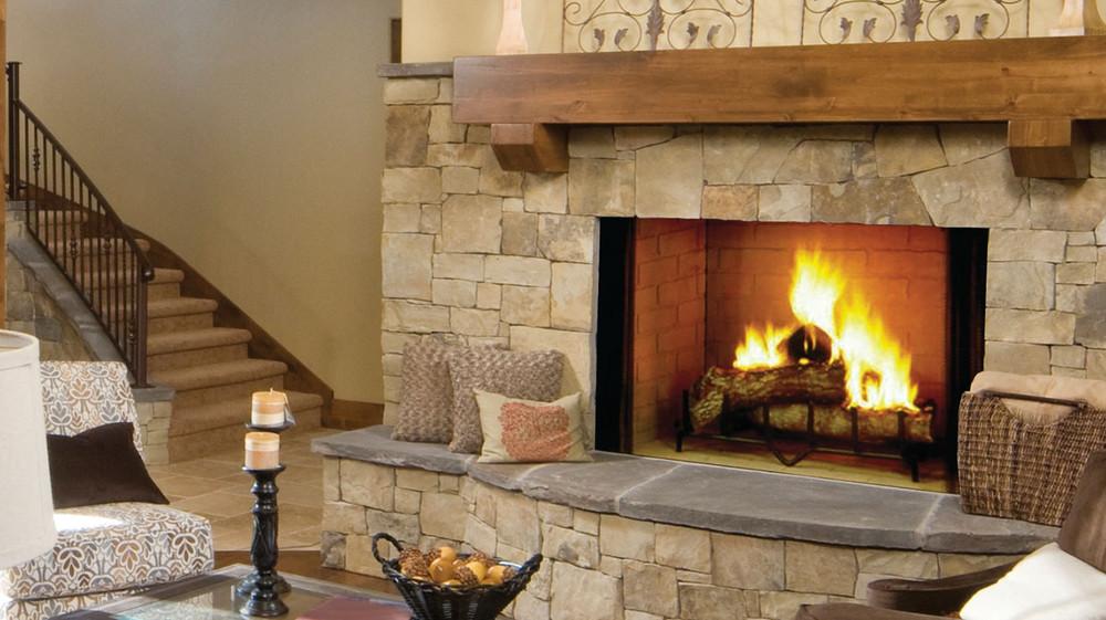 "Majestic Biltmore 36"" Wood Fireplace"