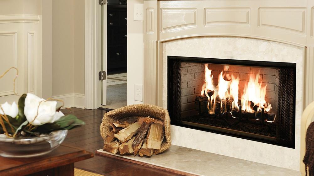 """Majestic Royalton 42"""" Wood Fireplace"""