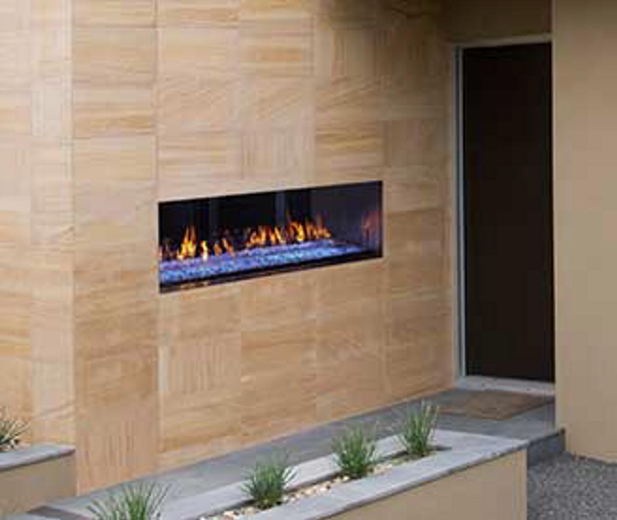 "Heatilator Palazzo 48"" See-Through Gas Fireplace"