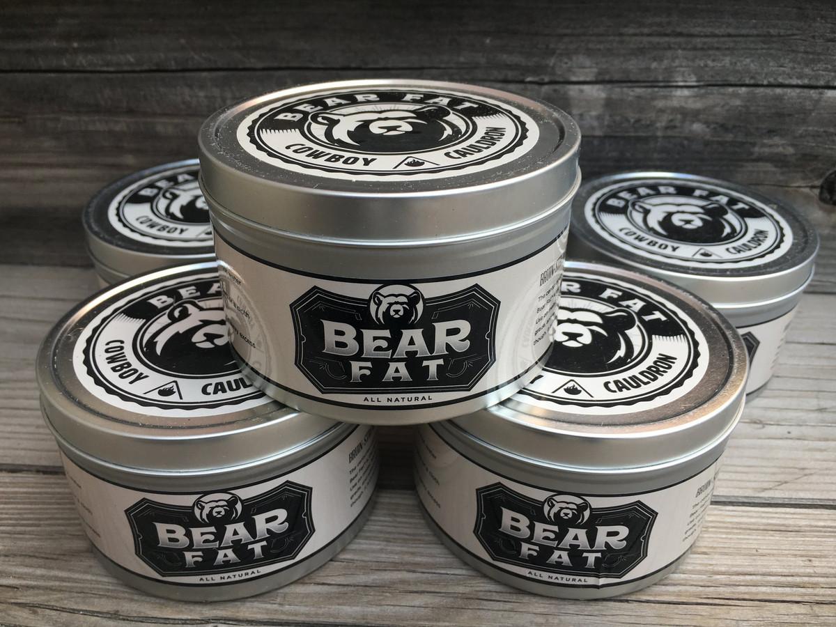 Cowboy Cauldron Bear Fat - 1 Pint