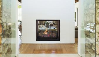 "Superior DRT 63"" See-Thru Direct Vent Gas Fireplace"