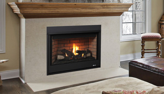 "Superior DRC 2035"" Direct Vent Gas Fireplace"