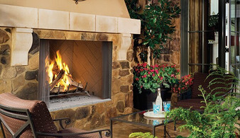 Superior WRE 4550 Outdoor Wood Burning Fireplace