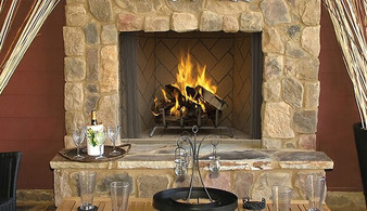 Superior WRE 6050 Outdoor Wood Burning Fireplace