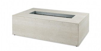 """Outdoor Great Room 132"""" X 36"""" Linear Ready-to-Finish Fire Pit Table Base"""