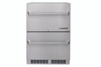 "Twin Eagles 24"" Twin Eagles Two Door Outdoor Refrigerator"