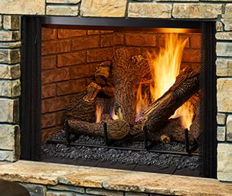 "Heatilator Legacy 42"" True-View  Gas Fireplace"