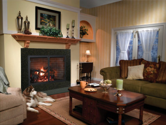 "Heatilator Icon 100"" Wood Fireplace"