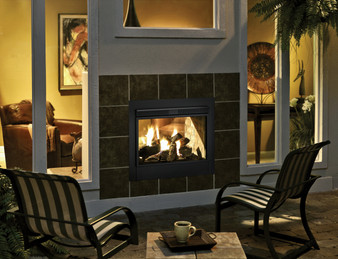 Hearth & Home Twilight II Indoor/Outdoor See-Through Gas Fireplace