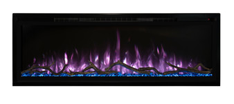 "Modern Flames 50"" Spectrum Slim-Line Wall Hanging Electric Fireplace"