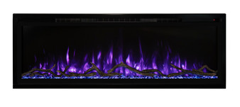 """Modern Flames 60"""" Spectrum Slim-Line Wall Hanging Electric Fireplace"""