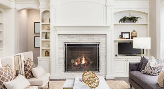 """American Hearth Renegade 50"""" Clean-Face Gas Fireplace"""