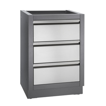 Napoleon OASIS Two Drawer Cabinet With False Top Drawer