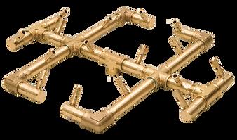 Warming Trends Original Crossfire Brass Burner- CFB0180