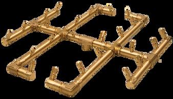Warming Trends Original Crossfire Brass Burner- CFB240