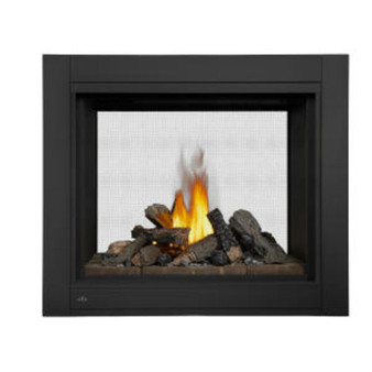 Napoleon Ascent Multi-View See-Thru Log Set Gas Fireplace-BHD4STN