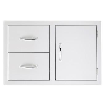 Summerset Door/ 2 Drawer Combo