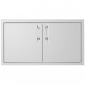 """Summerset 36""""Dry Storage 2-Drawer Cabinet w/Access Door Combo"""