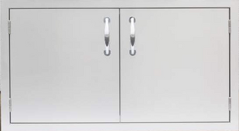 """Summerset 36""""Dry Storage Pantry (2-Drawer w/Enclosed Cabinet)"""