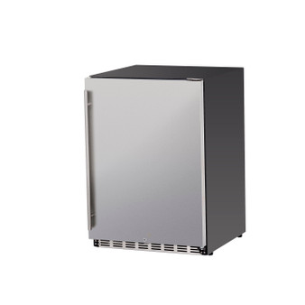 """Summerset 24"""" 5.3c Outdoor Rated Refrigerator (Right-to-Left Opening)"""