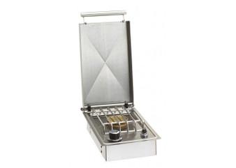 Fire Magic  Single Side burner - Drop in w/hinged lid