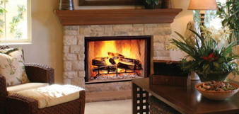 "Majestic Biltmore 42"" Wood Fireplace"