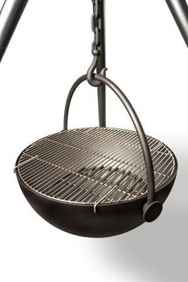 "Cowboy Cauldron ""Wrangler"" 36-Inch Diameter Steel Cauldron Fire Pit"
