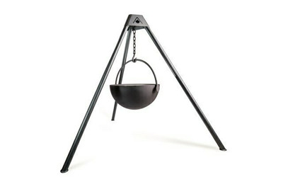 "Cowboy Cauldron ""Ranch Boss"" 42-Inch Diameter Steel Cauldron Fire Pit"
