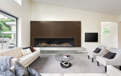 "Montigo Distinction 63"" Direct Vent Modern Fireplace"