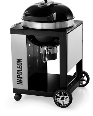 Napoleon Pro CART Charcoal Kettle Grill