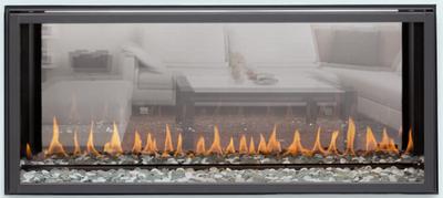 Montigo Exemplar 320 See-Through Direct Vent Gas Fireplace