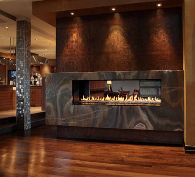 Montigo Exemplar 620 See-Through Direct Vent Gas Fireplace