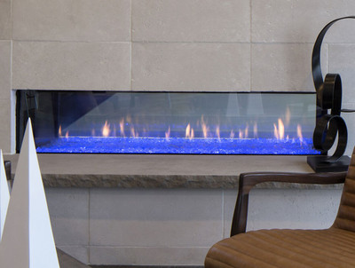 """Heat & Glo PRIMO 60"""" See-Through Gas Fireplace"""