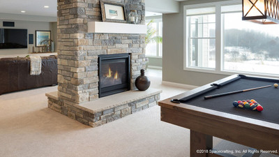 """Heat & Glo See-Through 36"""" TRB Gas Fireplace"""