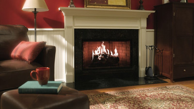 Heat & Glo Royal Hearth 42 Wood Fireplace