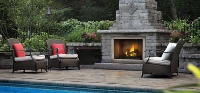 Napoleon Riverside 42 Outdoor Gas Fireplace