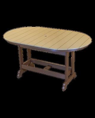 Kanyon Living Counter Height Rectangle/Oval Table Set