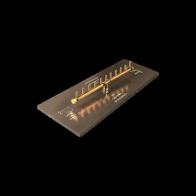 Warming Trends Linear Crossfire Brass Burner - CFBL110