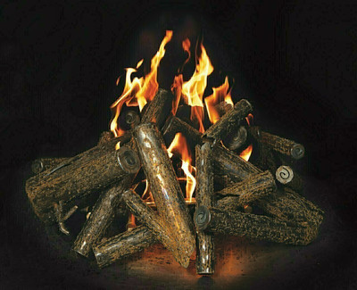 Warming Trends Linear Crossfire Brass Burner - CFBL130