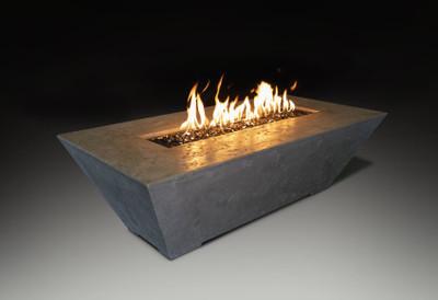 Linear Fire Table Grey