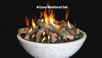 Fire bowl Arizona Weathered Oak