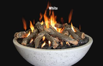 Fire bowl white