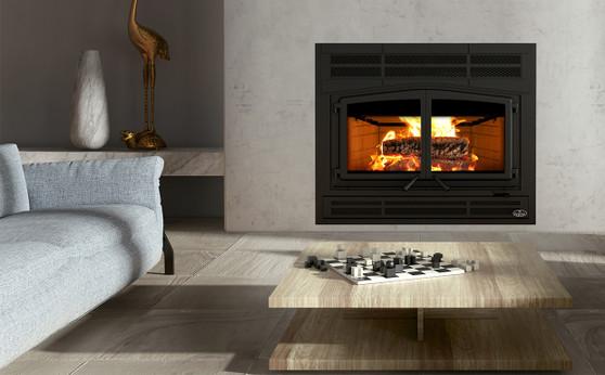 HORIZON Wood Fireplace