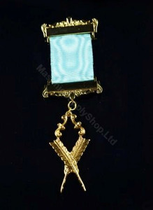 Lodge Officer Long Service  Mini Jewels Two Bar