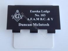 Name Badge/Name Tags with  3 Jewel Hanger
