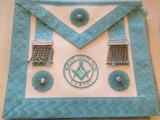 Masonic Master Mason apron with Badge